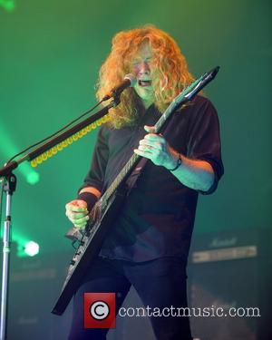Mustaine Blasts Ulrich Over Hall Of Fame Snub