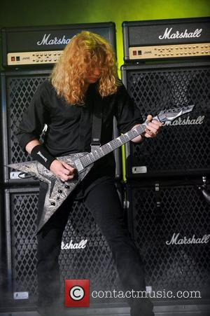 Dave Mustaine and Mayhem