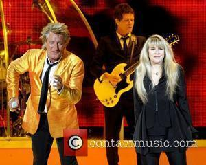 Rod Stewart and Stevie Nicks