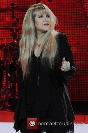 Stevie Nicks  performing on stage at The Air Canada Centre Toronto, Canada - 02.04.11