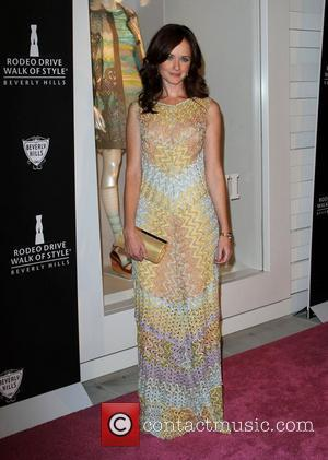 Alexis Bledel The Rodeo Drive Walk of Style honoring Iman and Missoni held at Rodeo drive  Los Angeles, California...
