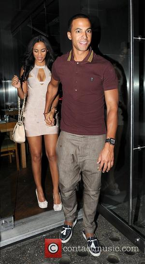 Marvin Humes of JLS and Rochelle Wiseman of The Saturdays,  at japanese restaurant, Roka London, England - 14.09.11