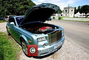 The new Rolls Royce 102EX Phantom showcased at the annual three day Salon Prive luxury and supercar event, viewing the...