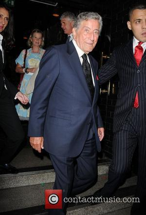 Tony Bennett,  at a private event at Ronnie Scott's Jazz Club in Soho. London, England - 05.10.11