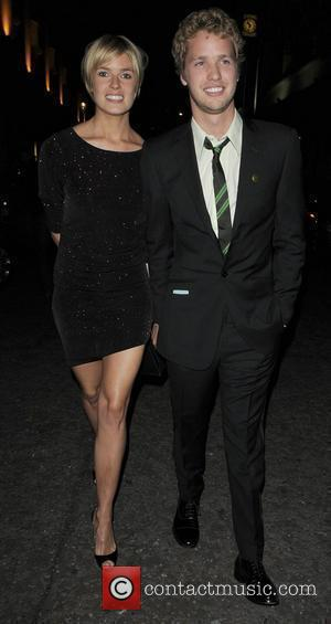 Sam Branson leaving with a lady having attended the 30th Anniversary of The Roof Top Gardens Kensington. London, England -...