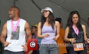 Amaury Nolasco, Roselyn Sanchez and Leeann Tweeden 2nd Annual Roselyn Sanchez Triathlon For Life - Day 3  San Juan,...