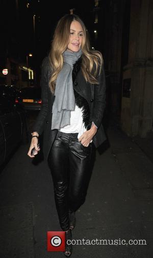 Elle Macpherson  arriving at Rosso restaurant Manchester, England - 29.01.11