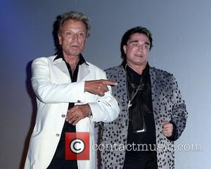 Siegfried Fischbacher and Roy Horn The Mirage Celebrates Master Illusionist Roy Horn's Birthday held at Siegfried and Roy's Secret Garden...