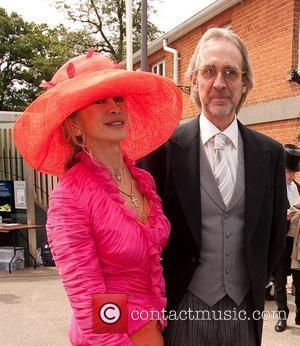 Mike Rutherford and wife Royal Ascot at Ascot Racecourse - Day 2  Berkshire, England - 15.06.11