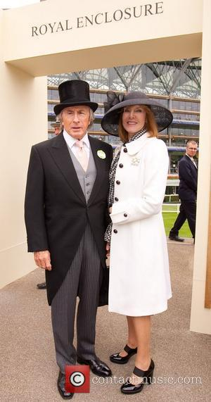 Sir Jackie Stewart and wife Royal Ascot at Ascot Racecourse - Day 2  Berkshire, England - 15.06.11