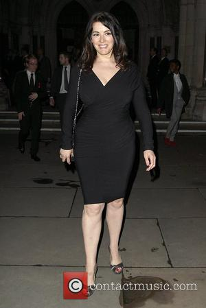 Nigella Lawson,  at the Terrence Higgins Trust Gala dinner held at the Royal Courts of Justice. London, England -...