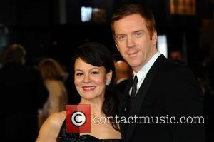 Helen Mccrory, Damian Lewis and Odeon Leicester Square