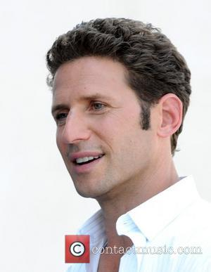 Mark Feuerstein filming on location for the television series 'Royal Pains' at the Intrepid Museum New York City, USA -...