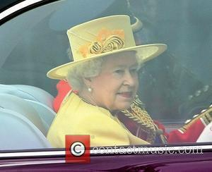 Queen Elizabeth II The Wedding of Prince William and Catherine Middleton - Westminster Abbey  London, England - 29.04.11