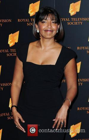 Sunetra Sarker,  at the RTS Programme Awards at The Grosvenor House Hotel. London, England - 15.03.11