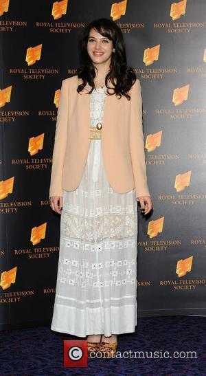 Jessica Brown-Findlay at the RTS Programme Awards at The Grosvenor House Hotel. London, England - 15.03.11