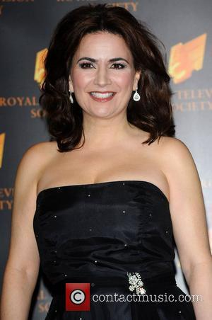 Debbie Rush at the RTS Programme Awards at The Grosvenor House Hotel. London, England - 15.03.11