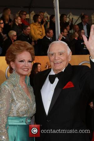 Ernest Borgnine and Tova Borgnine