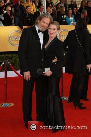 Jeff Bridges and Susan Geston