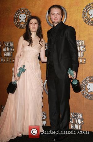 Aleksa Palladino, Michael Pitt The 17th Annual Screen Actors Guild Awards (SAG Awards 2011) held at the Shrine Auditorium &...