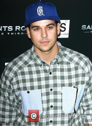 Rob Kardashian Saints Row: The Third concert and event held at Supperclub - Arrivals Los Angeles, California - 12.10.11