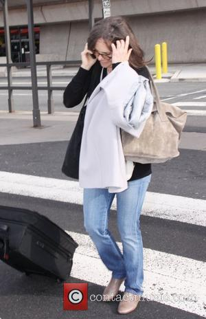 Actress Sally Field arrives at Washington Dulles Airport. She is on town to attend the Vital Voices Gala at The...