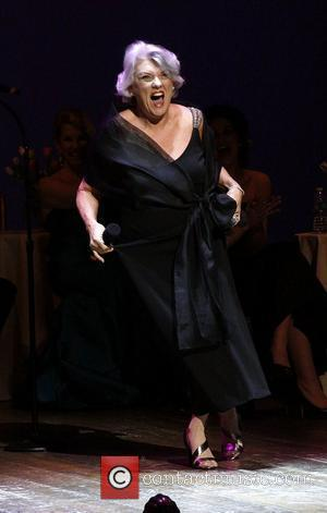 Tyne Daly The Acting Company Salute to Terrence McNally at the Longacre Theatre - Performance New York City, USA -...