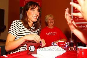 Samantha Cameron gives a manicure The launch of Contact a Family's campaign to help families with disabled children held at...