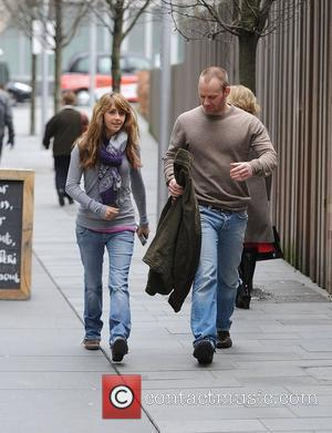 Samia Smith and Will Thorp head back to the 'Coronation Street' studios. The stars play a couple on screen and...