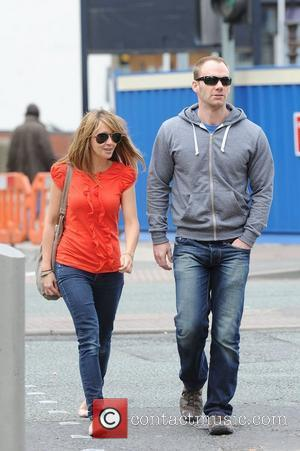 Samia Smith and Will Thorp shopping in Manchester Manchester, England - 26.04.11