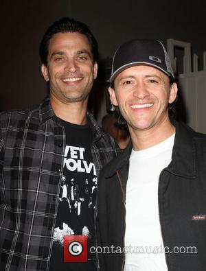 Johnathon Schaech, Clifton Collins Jr Samsung Infuse 4G For AT&T launch event at Milk Studios - Arrivals Los Angeles, California...