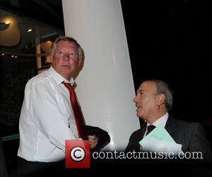 Alex Ferguson leaving San Carlo Restaurant Manchester, England - 08.09.11