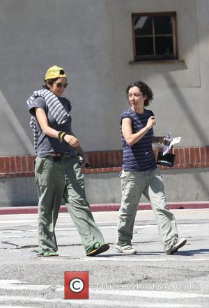 Rosanne actress, Sara Gilbert is seen out and a bout with a friends in Beverly Hills Beverly Hills, California -...
