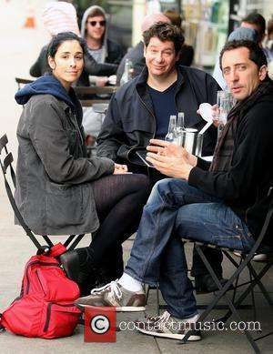 Sarah Silverman and Jeffrey Ross