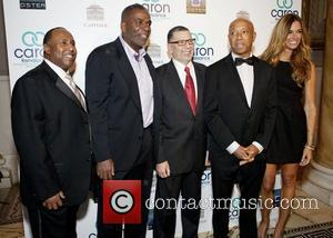 Robert Johnson,Michael Herbert, Sid Goodman, Russel Simmons and Kelly Bensimon Caron Renaissance 3rd Annual Save-A-Life Gala at Capitale Bowery New...