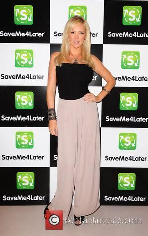 Aisleyne Horgan-Wallace  The Save Me 4 Later launch party - Arrivals London, England - 11.08.11