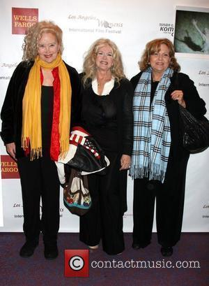 Sally Kirkland, Connie Stevens, Brenda Vaccaro arriving at the 'Saving Grace B. Jones' screening at Laemmle's Sunset 5 Theater. West...