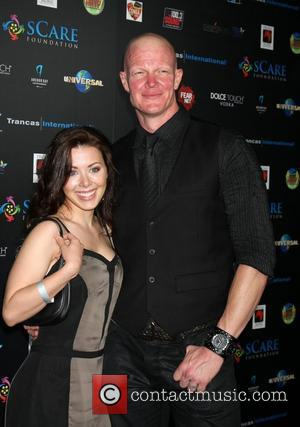Jamie Slater and Derek Mears sCare Foundation's 1st Annual Halloween Launch Benefit at The Conga Room at L.A. Live Los...