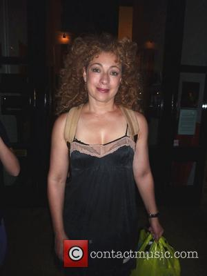 Alex Kingston Smashes Teeth In Horror Fall