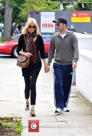 Claudia Schiffer and Matthew Vaughn  celebrities on the school run London, England - 22.06.11