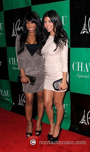 Malika Haqq and Kourtney Kardashian