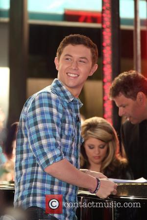 Scott McCreery  performing at 'The Today Show' New York City, USA – 02.06.11