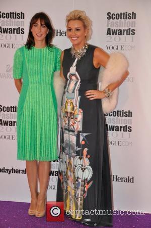Samantha Cameron Scottish Fashion Awards 2011 - Arrivals Glasgow, Scotland - 15.06.11