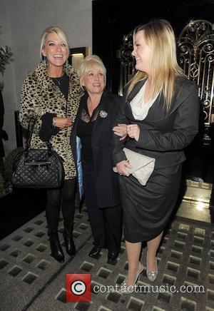Eastenders actresses Zoe Lucker, Barbara Windsor and Jo Joyner leaving Scott's restaurant in Mayfair together. London, England - 23.11.11