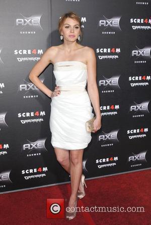 Aimee Teegarden Has A Worm Bin