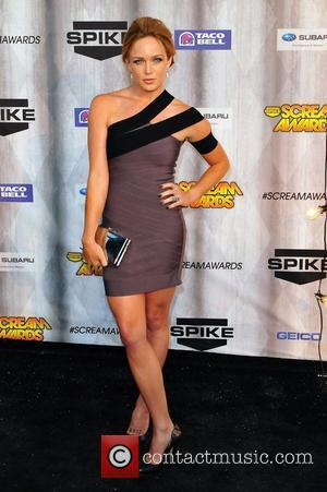 Caity Lotz Spike TV's Scream 2011 Awards at Universal Studios - Arrivals Universal City, California - 15.10.11