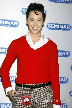 Johnny Weir  Broadway World Premiere of 'Seminar' at the Golden Theatre - Arrivals.  New York City, USA -...
