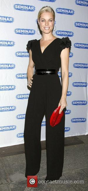 Rebecca Romijn  Broadway World Premiere of 'Seminar' at the Golden Theatre - Arrivals.  New York City, USA -...