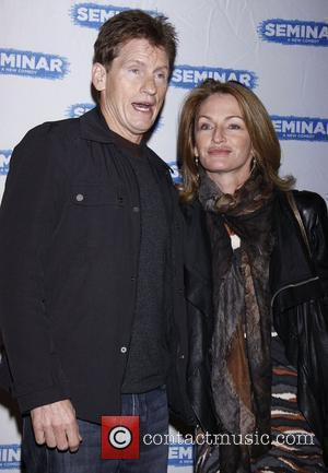Denis Leary and Ann Lembeck Leary  Broadway World Premiere of 'Seminar' at the Golden Theatre - Arrivals.  New...