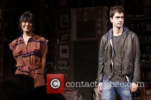 Hettienne Park and Hamish Linklater  Broadway World Premiere of 'Seminar' at the Golden Theatre - Curtain Call.  New...